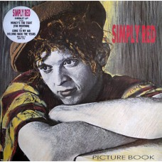 SIMPLY RED - PICTURE BOOK - LP 1985 - EXCELLENT+