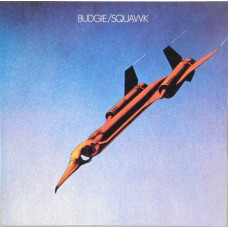 BUDGIE - SQUAWK - LP 1989 - LIMITED ON WHITE VINYL - NEAR MINT