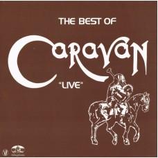 """CARAVAN - THE BEST OF CARAVAN """"LIVE"""" - LP 1982 - EXCELLENT"""