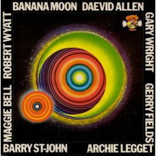 DAEVID ALLEN - BANANA MOON - LP UK 1979 - EXCELLENT++