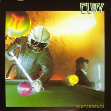 ELOY - PERFORMANCE - LP UK 1983 - EXCELLENT