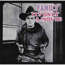 FAMILY - IT'S ONLY A MOVIE - LP UK 1973 - EXCELLENT+
