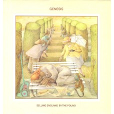 GENESIS - SELLING ENGLAND BY THE POUND - LP CANADA 1973 - EXCELLENT+