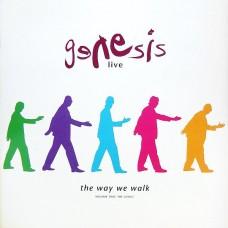GENESIS - LIVE / THE WAY WE WALK - VOLUME TWO: THE LONGS - LP UK 1993 - ORIGINAL - EXCELLENT+