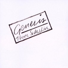 GENESIS - THREE SIDES LIVE - LP UK 1982 - EXCELLENT