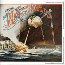 JEFF WAYNE - JEFF WAYNE'S MUSICAL VERSION OF THE WAR OF THE WORLDS - 2LP UK - EXCELLENT++