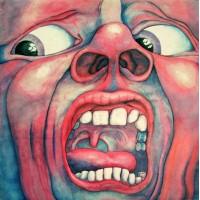 KING CRIMSON - IN THE COURT OF THE CRIMSON KING - LP UK 1972 - PINK RIM - EXCELLENT-