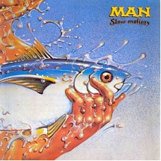 MAN - SLOW MOTION - LP UK 1974 - NEAR MINT