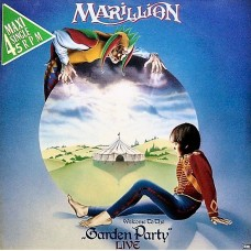 "MARILLION - GARDEN PARTY LIVE - 12"" MAXI 1986 - EXCELLENT++"