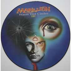 "MARILLION - WARM WET CIRCLES (REMIX) - 12"" UK 1987 - PICTURE DISC - NEAR MINT"