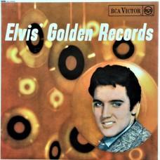 ELVIS PRESLEY - ELVIS' GOLDEN RECORDS - LP UK 1967 - EXCELLENT