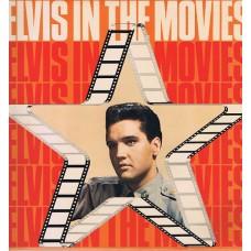 ELVIS PRESLEY - ELVIS IN THE MOVIES - LP UK 1978 - NEAR MINT
