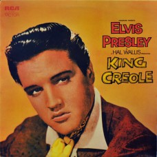 ELVIS PRESLEY - KING CREOLE - LP UK 1972 - EXCELLENT++
