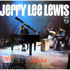 "JERRY LEE LEWIS - ""LIVE"" AT THE STAR CLUB HAMBURG - LP UK 1965 - EXCELLENT-"