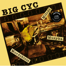 BIG CYC - MIŁOŚĆ, MUZYKA, MORDOBICIE - 180g LP 2017 - LIMITED EDITION COLOURED VINYL - MINT