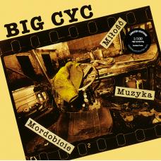 BIG CYC - MIŁOŚĆ, MUZYKA, MORDOBICIE - 180g LP 2017 - LIMITED EDITION COLOURED VINYL - MINT