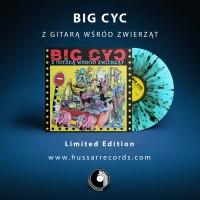 BIG CYC - Z GITARĄ WŚRÓD ZWIERZĄT - 180g LP 2020 - LIMITED EDITION TURQUOISE / BLACK SPLATTER - MINT