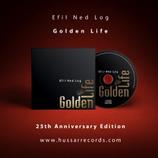 GOLDEN LIFE - EFIL NED LOG - CD - DIGIPAK - 2018 - 25-ANNIVERSARY EDITION