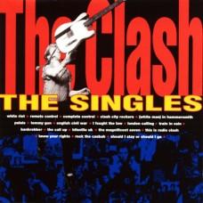THE CLASH - THE SINGLES - LP 1991 - EXCELLENT-