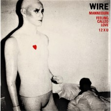 "WIRE - MANNEQUIN - 7"" UK 1977 - DEMO / PROMO - EXCELLENT"