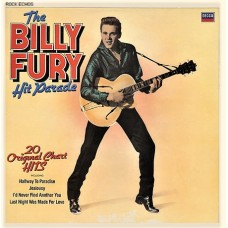 BILLY FURY - THE BILLY FURY HIT PARADE - LP UK 1982 - NEAR MINT