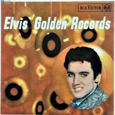 ELVIS PRESLEY - ELVIS' GOLDEN RECORDS - LP UK 1967 - EXCELLENT