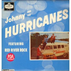 JOHNNY AND THE HURRICANES - RED RIVER ROCK - LP UK - EXCELLENT