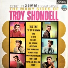TROY SHONDELL - THE MANY SIDES OF TROY SHONDELL - LP UK 1963 - MONO - EXCELLENT+