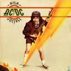 AC/DC - HIGH VOLTAGE - LP - EXCELLENT