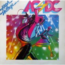 AC/DC - HIGH VOLTAGE - LP UK 1976 - EXCELLENT-
