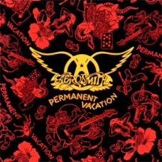 AEROSMITH - PERMANENT VACATION - LP 1987 - EXCELLENT+