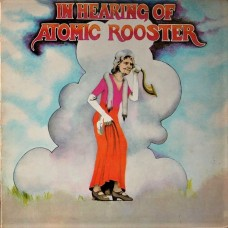 ATOMIC ROOSTER - IN HEARING OF - LP UK 1971 - EXCELLENT-
