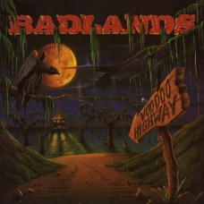 BADLANDS - VOODOO HIGHWAY - LP UK 1991 - EXCELLENT+