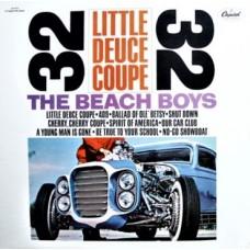 THE BEACH BOYS - LITTLE DEUCE COUPE - LP USA - NEAR MINT