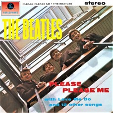 THE BEATLES - PLEASE PLEASE ME - LP UK 1969 - STEREO - NEAR MINT