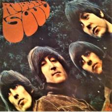 THE BEATLES - RUBBER SOUL  - LP UK 1973  - STEREO - EXCELLENT+