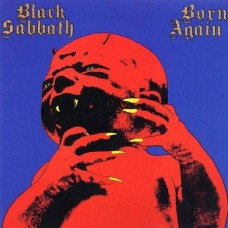 BLACK SABBATH - BORN AGAIN - LP UK 1983  - EXCELLENT+