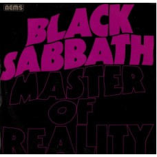 BLACK SABBATH - MASTER OF REALITY - LP UK 1976 - NEAR MINT