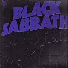 BLACK SABBATH - MASTER OF REALITY - LP UK 1971 - SWIRL - EXCELLENT