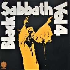 BLACK SABBATH - VOL 4 - LP UK 1972 - RARE SWIRL - NEAR MINT