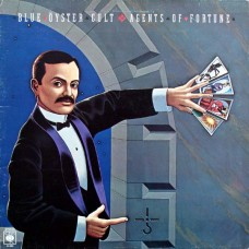 BLUE OYSTER CULT - AGENTS OF FORTUNE - LP UK 1976 - EXCELLENT-