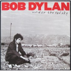 BOB DYLAN - UNDER THE RED SKY - LP UK 1990 - NEAR MINT