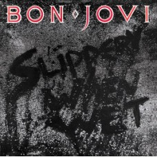 BON JOVI - SLIPPERY WEN WET - LP UK 1986 - EXCELLENT+