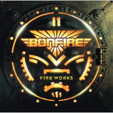 BONFIRE - FIRE WORKS - LP 1987 - EXCELLENT+