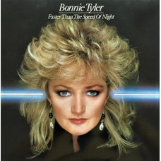 BONNIE TYLER - FASTER THAN THE SPEED OF NIGHT - LP UK 1983 - EXCELLENT+