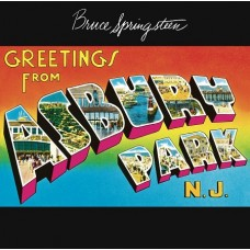 BRUCE SPRINGSTEEN - GREETINGS FROM ASBURY PARK N. J.  - LP UK -  NEAR MINT