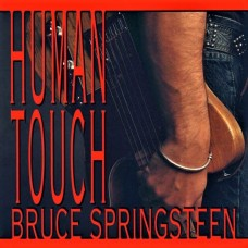 BRUCE SPRINGSTEEN - HUMAN TOUCH - LP UK 1992 - EXCELLENT+