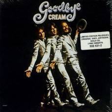 CREAM - GOODBYE - CD 1997 - LIMITED EDITION GOLD CD - LP REPLICA - BRAND NEW - MINT