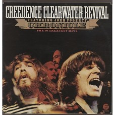 CREEDENCE CLEARWATER REVIVAL - CHRONICLE - LP UK 1976 - EXCELLENT+