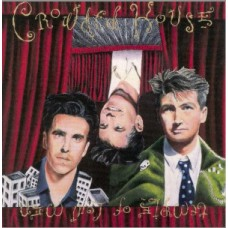 CROWDED HOUSE - TEMPLE OF LOW MEN - LP UK 1988 - EXCELLENT+